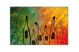 Festival du vin Reproduction procédé giclée par Carmen Guedez