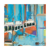 Three Boats Giclee Print by Melissa Lyons