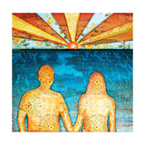 Sunburst in Love Giclee Print by Danny Phillips