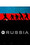Brazil 2014 - Russia Posters