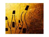 Les Vin Blancs Reproduction procédé giclée par Carmen Guedez