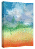 Big Sky Calm Gallery-Wrapped Canvas Stretched Canvas Print