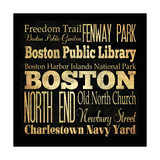 Boston Giclee Print by Helen Chen