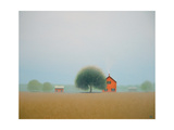 Misty Brick Farm Arte di Sharon France