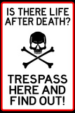 No Trespassing Do Not Enter Poster Posters