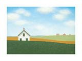 White House on the Prarie Prints by Sharon France