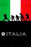 Brazil 2014 - Italy Poster