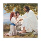 The Pure Love of Christ Poster von Mark Missman