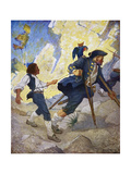 Treasure Island, 1911 Giclee Print by Newell Convers Wyeth