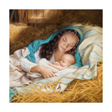 Mary and Baby Plakat autor Mark Missman