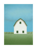 White Barn Prints by Sharon France