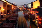 Canals of Suzhou as 'Venice of the East' Photographic Print by Michael Reynolds