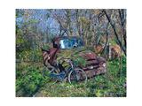 Old Mack Bobs Truck Print by Lynn Garwood