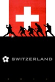 Brazil 2014 - Switzerland Posters
