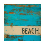 Beach Giclee Print by Melissa Lyons