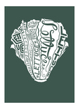 Lettuce Prints by  Monorail Studio