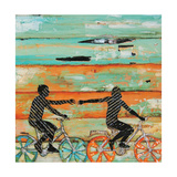 Bicycle Play Art by Danny Phillips