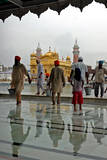 Devotees Carry Buckets as They Perform 'Sewa' Photographic Print by Raminder Pal Singh