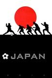 Brazil 2014 - Japan Posters
