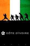 Brazil 2014 - Cote d'Ivoire Posters