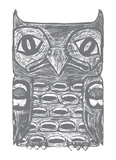 Owl Totem Prints by  Monorail Studio