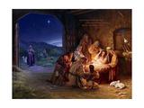 Light of the World - Saviour Kunstdrucke von Mark Missman