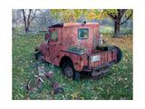 Old Truck Art by Lynn Garwood