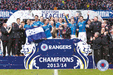 Rangers - Champions 13/14 Posters