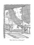 """Mom, Dad's been on eBay again!"" - New Yorker Cartoon Premium Giclee Print by Jack Ziegler"