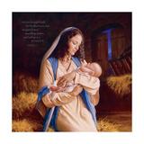 Heaven's Perfect Gift - Manger Reprodukcje autor Mark Missman