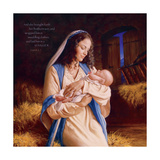 Heaven's Perfect Gift - Manger Prints by Mark Missman