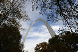 A General View of the St. Louis Gateway Arch in St. Louis, Missouri, USA Photographic Print by Larry W. Smith