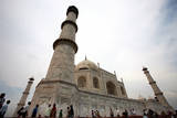 A View of the Taj Mahal in Agra, Uttar Pradesh, India Photographic Print by Money Sharma