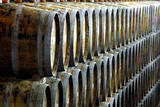 Oak Casks Wait for the Grape Juice after the Vintage of Port Wine-Grapes Photographic Print by Ferenc Kalmandy