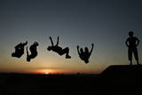 Parkour in Gaza Photographic Print by Ali Ali