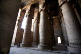 Hypostyle Hall in the Temple of Hathor Photographic Print by Mike Nelson