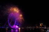 London New Years Eve Celebrations Photographic Print by Daniel Deme