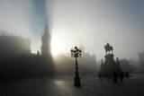 Fog in Dresden Photographic Print by Matthias Hiekel
