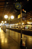 The Deserted Gare Du Nord Railway Station in Paris, France Photographic Print by Yoan Valat