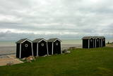 Beach Huts Photographic Print by Horacio Villalobos