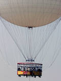 A Group of People Take a Tour in a Balloon in Valencia, Eastern Spain Photographic Print by Juan Carlos Cardenas