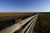 Cattle Pens in the Flint Hills of Kansas Near Emporia, Kansas, USA Photographic Print by Larry W. Smith