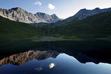 Erzhorn Mountain Being Reflected in the Schwellisee (Schwelli Lake) Near Arosa, Switzerland Photographic Print by Alessandro Della Bella