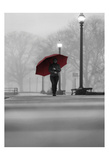 The Umbrella Walker 7 Prints by Sandro De Carvalho