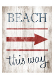 Beach Print by Jace Grey