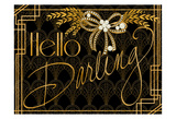 Deco Hello Darling Prints by Nicole Tamarin