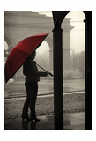 The Umbrella Walker 5 Prints by Sandro De Carvalho