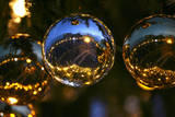 Saint Peter's Square Is Reflected on a Ball of the Christmas Tree in Vatican City Photographic Print by Maurizio Brambatti