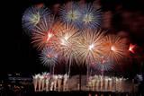 Team Malaysia Displays it's Fireworks over Putrajaya, Outside Kuala Lumpur, Malaysia Photographic Print by Shamshahrin Shamsudin