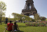 Paris Spring Weather Feature Photographic Print by Ian Langsdon